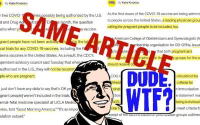 Goebbelsesque Misinformation, America!