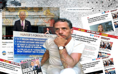 Hunter Interrupts Joe Biden's Live Stream To Announce He's Accepted A Plea Deal