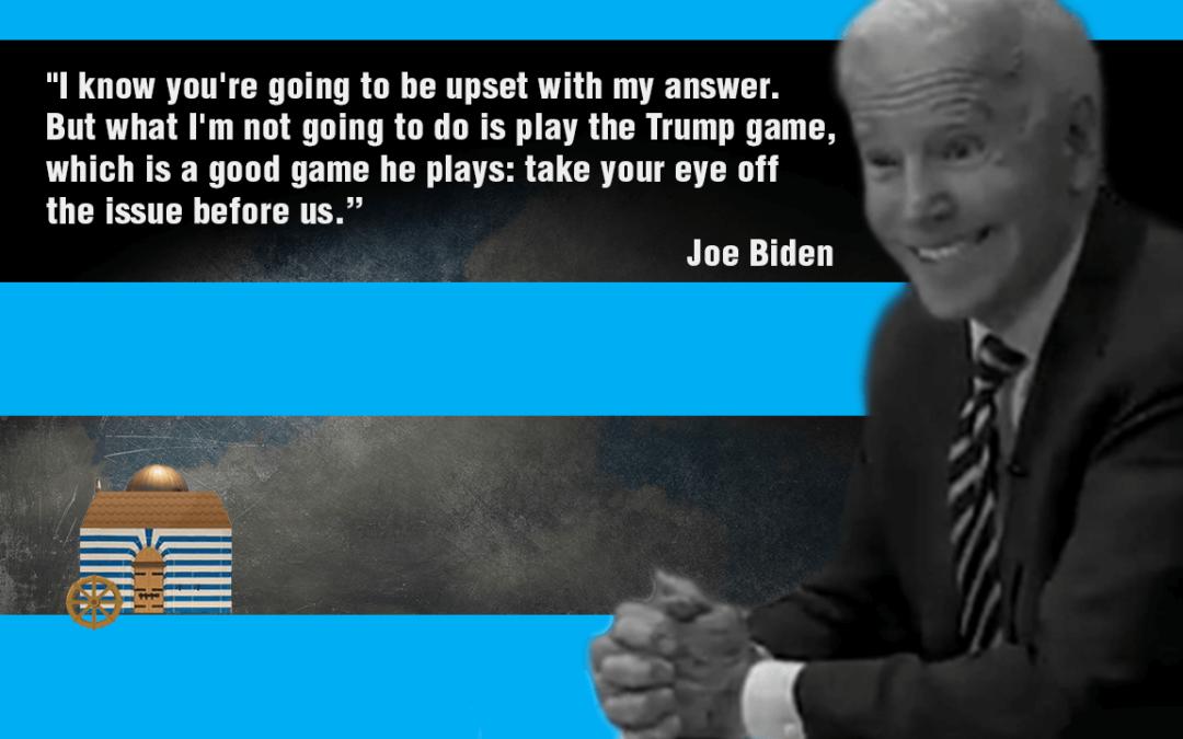 Biden Takes The Focus Off